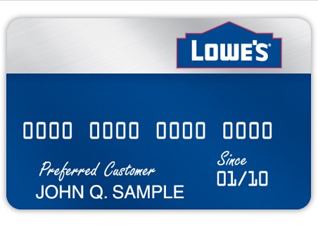 Lowes consumer credit card apply manage online steps for applying consumer credit card reheart Images